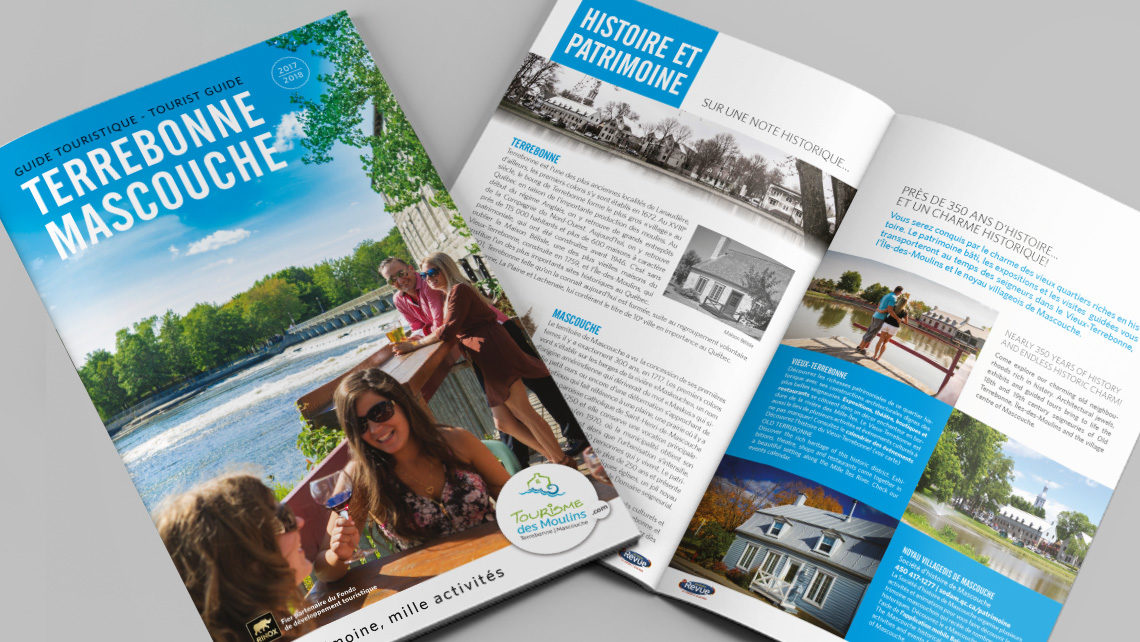 Guide touristique terrebonne et mascouche pixocreation for Chambre de commerce de terrebonne